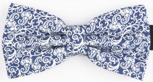 Blå mønstret butterfly