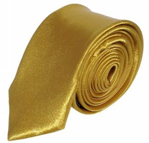 Guld smalt slips