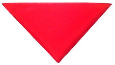 Rød lommeklud