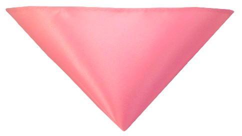 Lyserød lommeklud