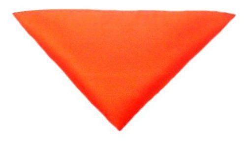 Orange lommeklud