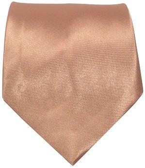 Kobber farvet bredt slips