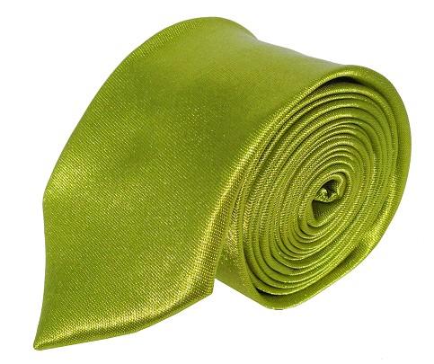 Grønt smalt slips