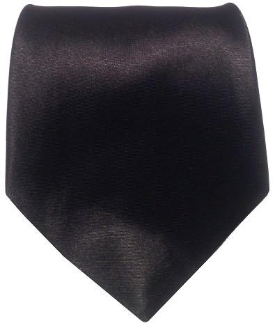 Sort bredt slips