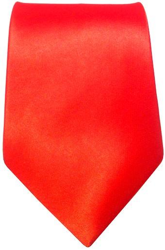 Rødt bredt slips