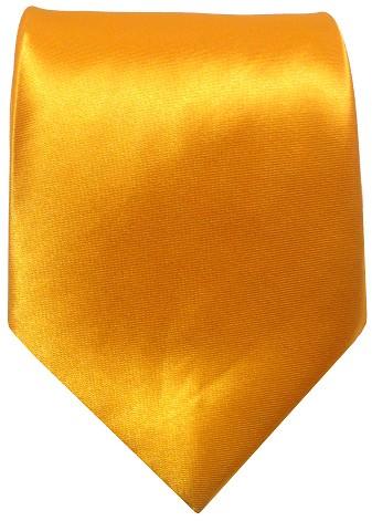 Gult bredt slips