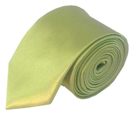Lysegrønt smalt slips