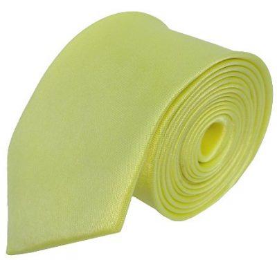 Lysegult smalt slips
