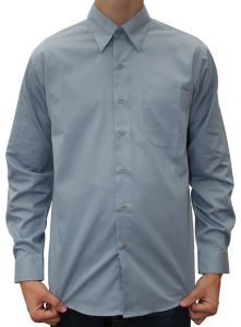 Støvblå skjorte