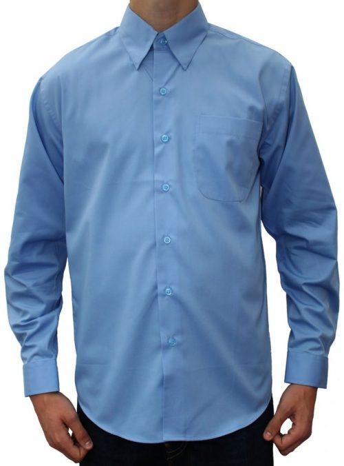 Blå skjorte