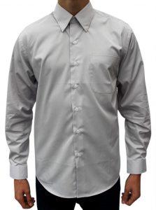 Lysegrå skjorte