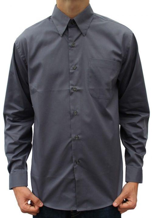 Mørkegrå skjorte