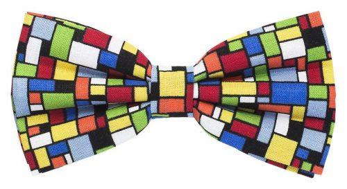 Mosaikbutterfly i mange farver