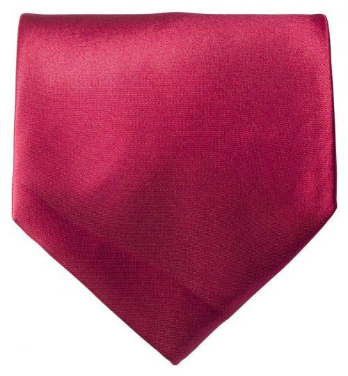 Bordeauxrødt bredt slips