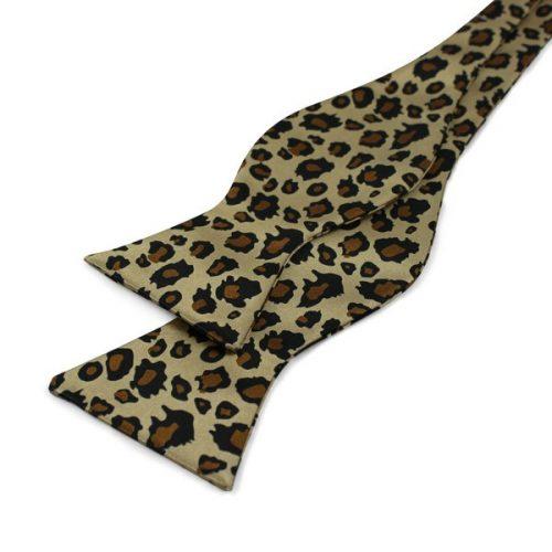 Leopard Mønstret Selvbinder-butterfly